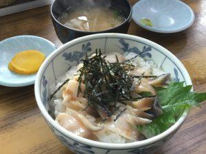 苫小牧 マルトマ食堂 生ホッキ丼