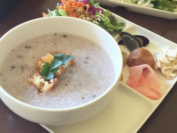 函館 Marusen お粥プレート 朝食