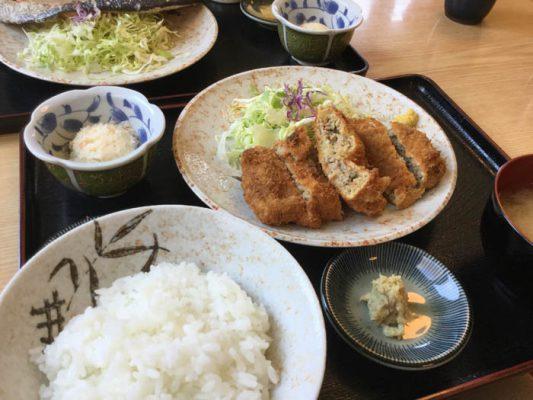 平成29年 柳ばし メンチカツ定食