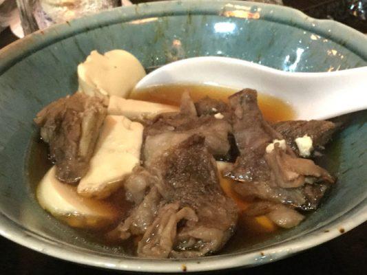 H29 弘前市 津軽三味線と郷土料理の店杏 牛すじ煮込み