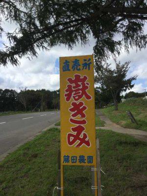H29 弘前市 岩木山 嶽高原 看板