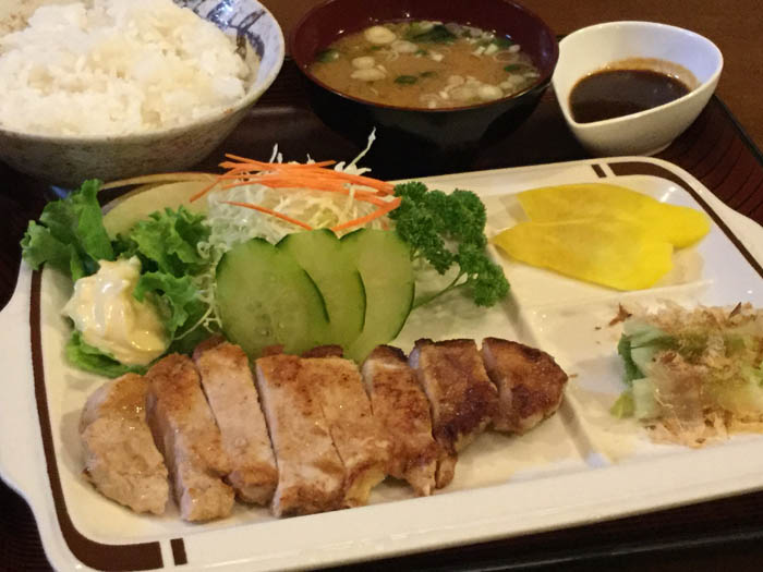 平成29年 豊浦町 ドライブインいずみ 焼肉定食