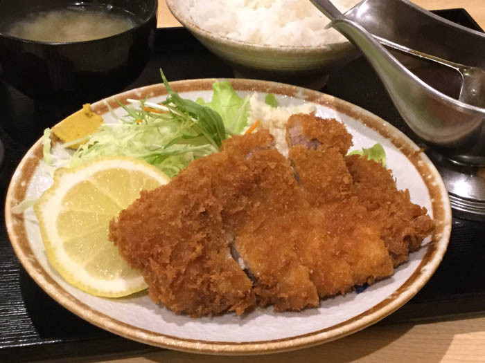 平成29年 平取町 味処いこい とんかつ定食
