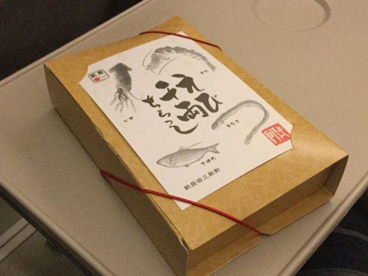 平成30年 東京駅 駅弁 えび千両ちらし