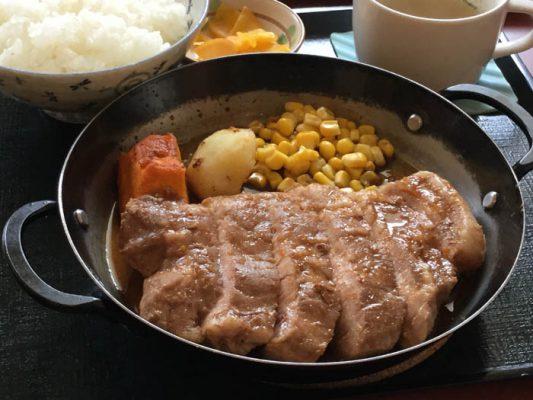 平成30年 美瑛町 だいまる びえい豚テキ定食