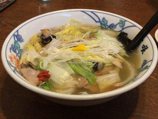 平成30年 閉店 ラーメン玄咲 本店 龍舟麺 塩