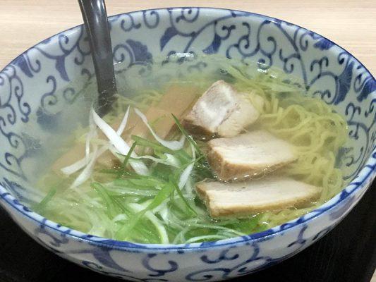 2019 函館市 函館麺屋四代目 塩拉麺
