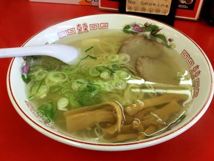 H29 函館市 鳳蘭 塩ラーメン