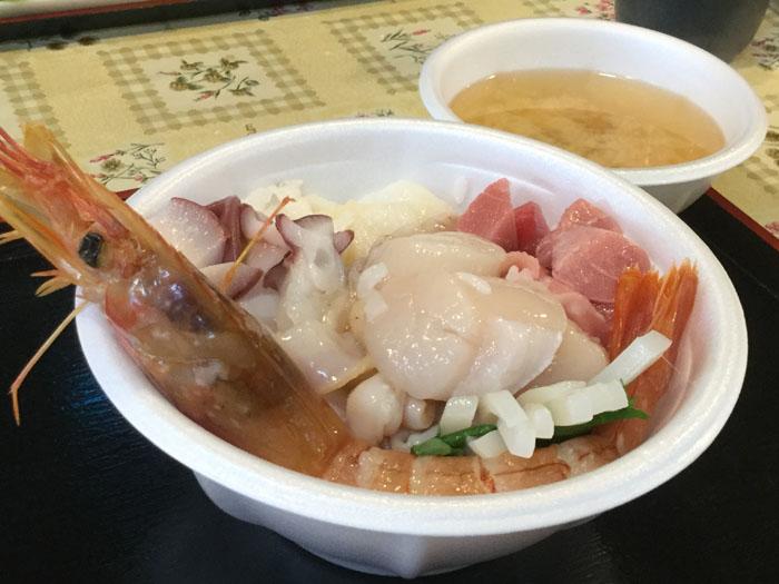 H29 青森市 青森魚菜センター のっけ丼