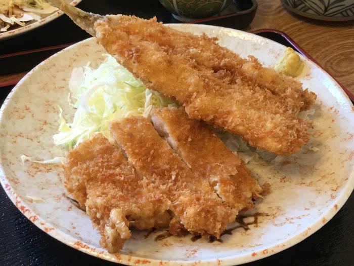 平成29年 千歳市 柳ばし コラボ定食オリジナル