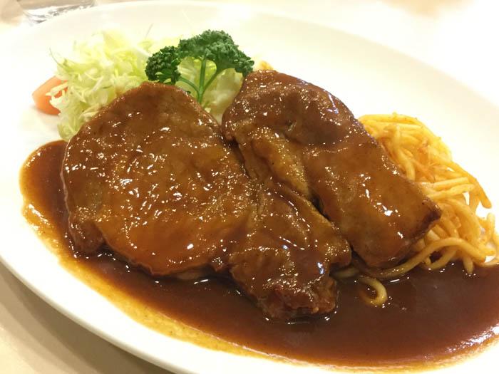 平成30年 香川県高松市 瓦町 洋食おなじみ ポークチャップ